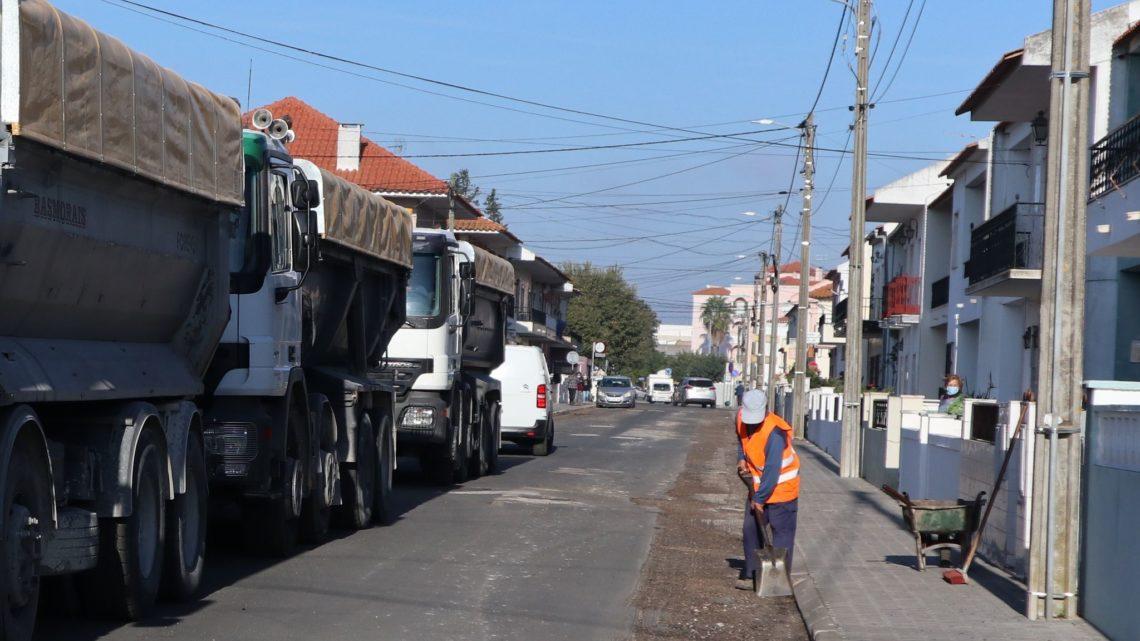 Câmara de Salvaterra de Magos investe mais 333 mil euros em arruamentos no concelho