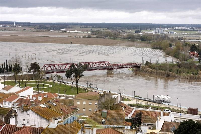 Com barragens do Montargil e do Maranhão a 100% cheia no Sorraia vai manter-se por alguns dias