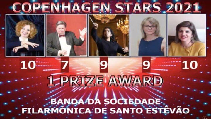 Filarmónica de Santo Estevão conquista mais um prémio internacional