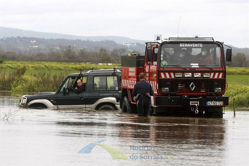 Bombeiros de Benavente resgataram 11 pessoas do rio Sorraia. Último caso aconteceu esta sexta-feira